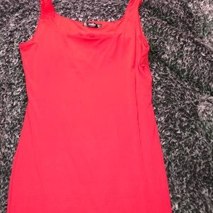 SHEIN Red Fitted dress
